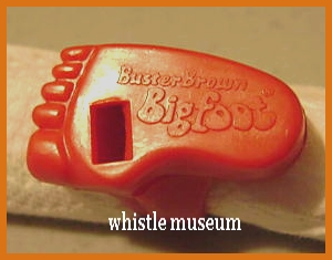 1960s_Buster_Brown_Whistle_Big_foot_,premium_ring__whistle_museumjpg