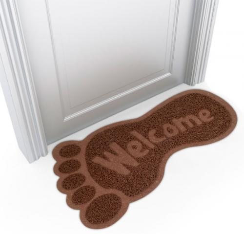 Bigfoot-Shaped-Welcome-Mat